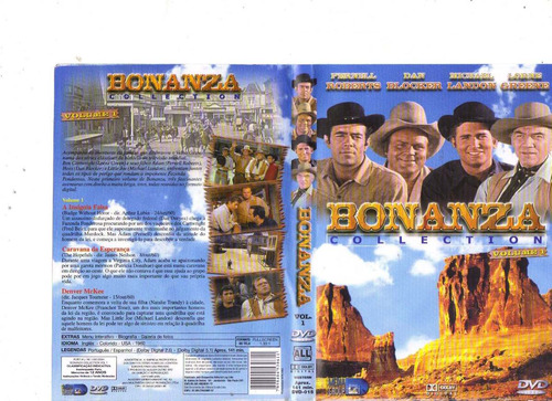 dvd bonanza - collection - volume 1, western, original