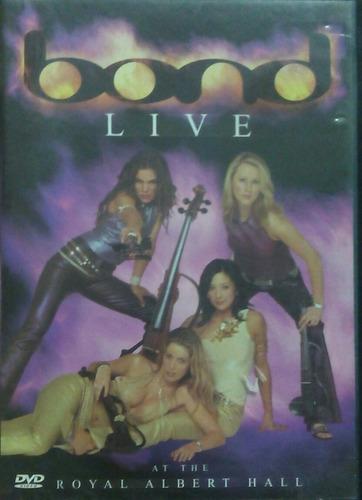 dvd bond live at the royal albert hall