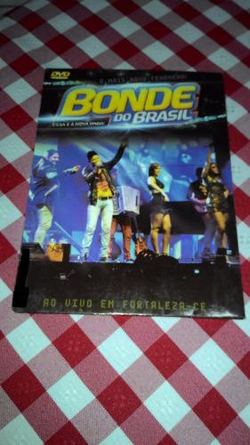 dvd bonde do brasil ao vivo fortaleza capa de papelão