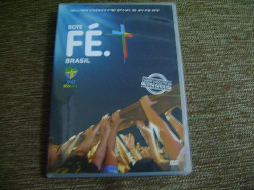 dvd bote fé brasil o maior encontro da musica catolica e1b5