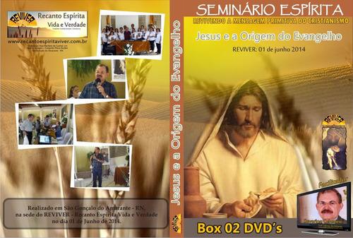 dvd box com 02 mídias