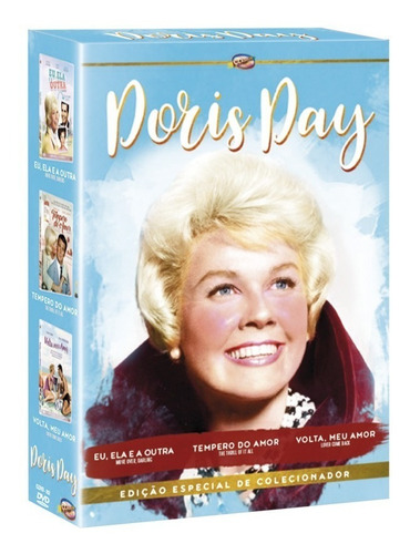 dvd box doris day 3 filmes - classicline - bonellihq e19