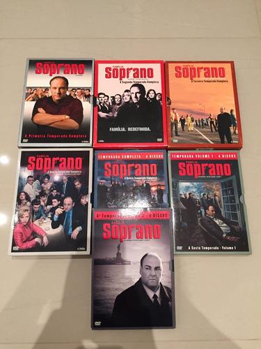 dvd box família soprano completo