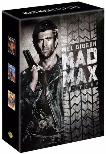 dvd - box mad max - 3 filmes (lacrado)