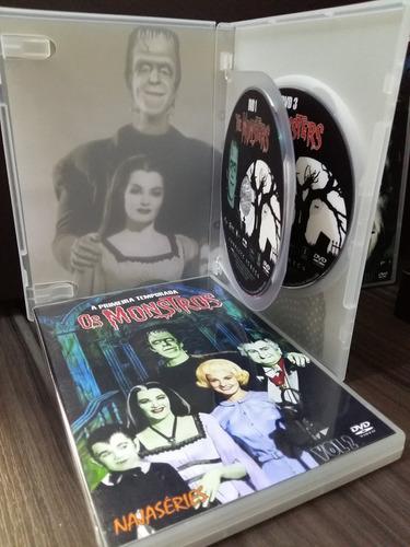 dvd box os monstros - série completa dublado