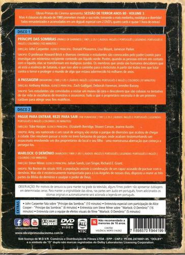 dvd box sessao de terror anos 80 vol 3 opc 03 bonellihq u20