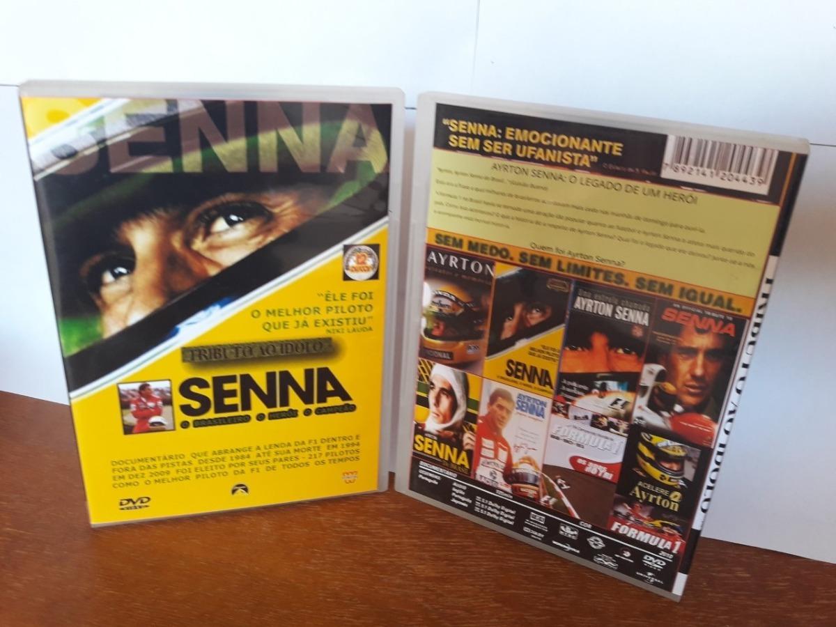 4444869ba4 Dvd Box So Documentario Senna  Tributo Ao Ídol0 12 Dvds - R  160