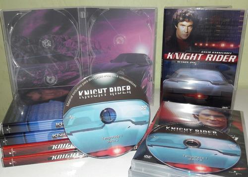 dvd box super máquina - 4 temporadas completas dubladas