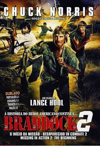dvd braddock 2 - o início da missão chuck norris - dublado