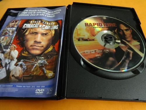 dvd brandon lee rajada de fogo original filme