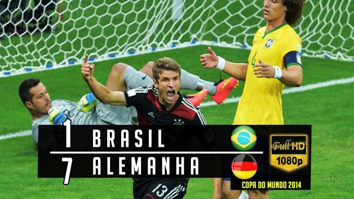 dvd brasil 1x7 alemanha jogo completo copa do mundo 2014. Carregando zoom. 66d60ddb97529