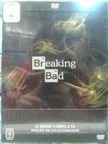 dvd  breaking bad 1ª a 6ª a coleção  21 discos