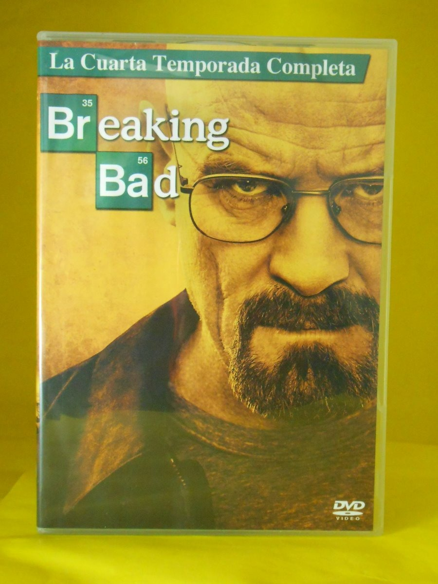 Dvd Breaking Bad - Cuarta Temporada Completa - Bryan Cransto ...