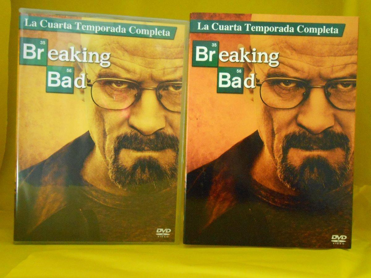 Dvd Breaking Bad - Cuarta Temporada Completa - Bryan Cransto ...