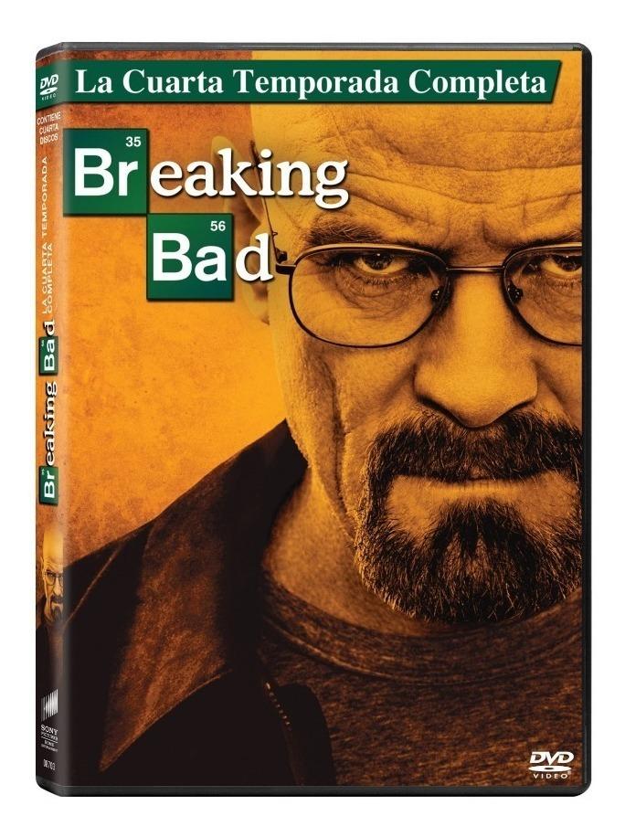 Dvd Breaking Bad Cuarta Temporada Nuevo Cerrado Original Sm
