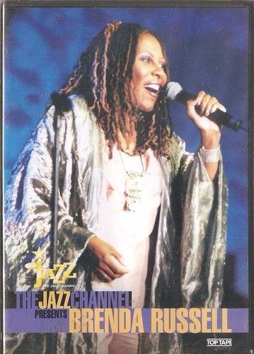 dvd brenda russel - the jazz channel presents ( jazz e r&b)