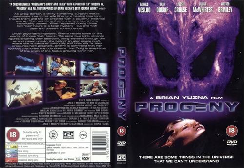 dvd brian yuzna procreacion siniestra progeny alien ovni et