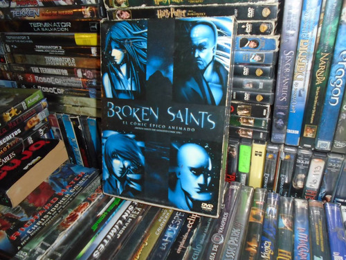 dvd broken saints el comic animado