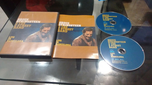 dvd bruce springsteen live in barcelona imp en formato dvd