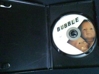 dvd  -  bubble - uma nova esperiencia