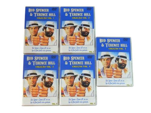 dvd bud spencer e terence hill - coleção filmes antigos