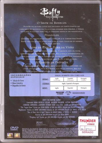 dvd buffy: a caça vampiros - 1ª temporada completa- original