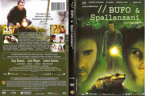 dvd bufo & spallanzani - josé mayer, tony ramos - original