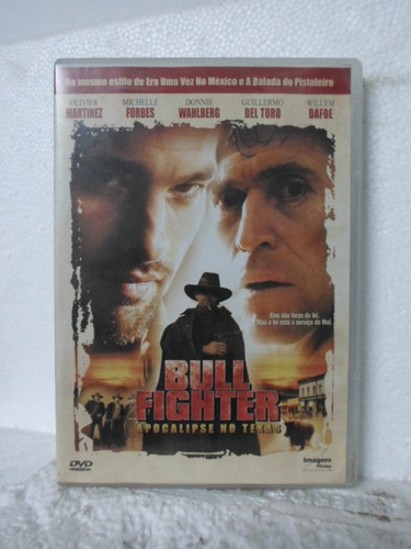 dvd bull fighter - apocalipse no texas - original