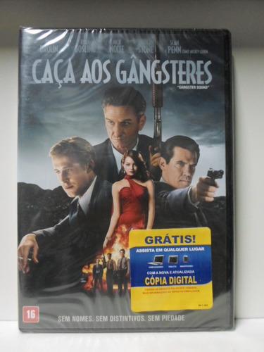 dvd caça aos gangsters - lacrado - frete: 8,00