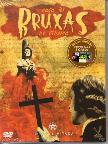 dvd caca as bruxas no cinema - versatil bonellihq cx388 j18