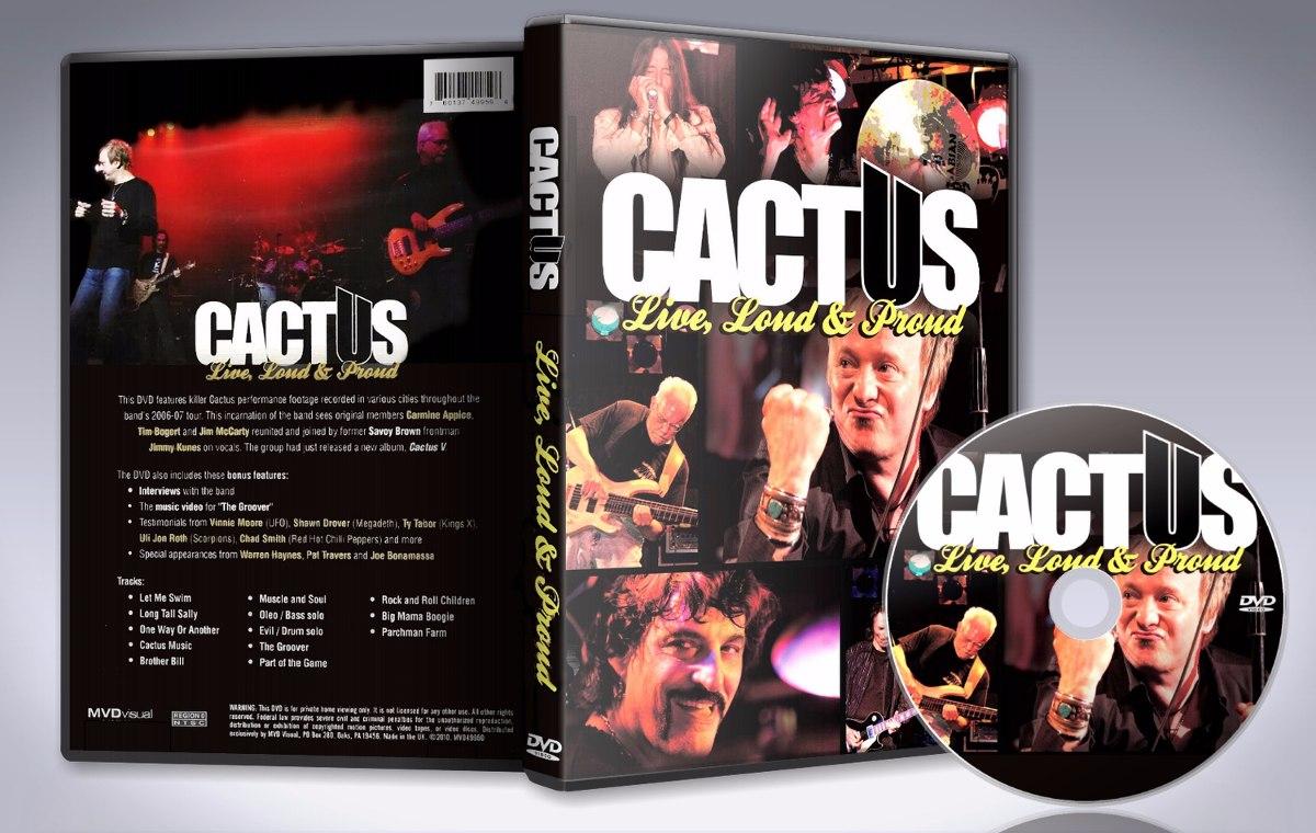 Cactus - Live, Loud & Proud