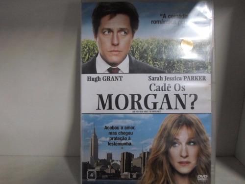dvd cade os morgan - original - frete: 7,00