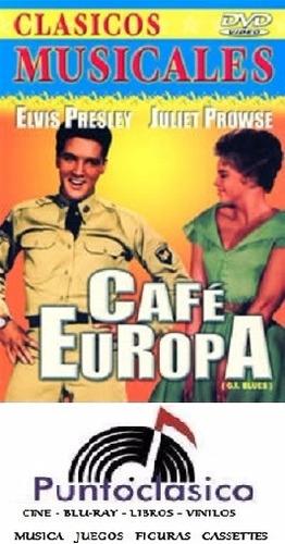 dvd - café europa - elvis presley