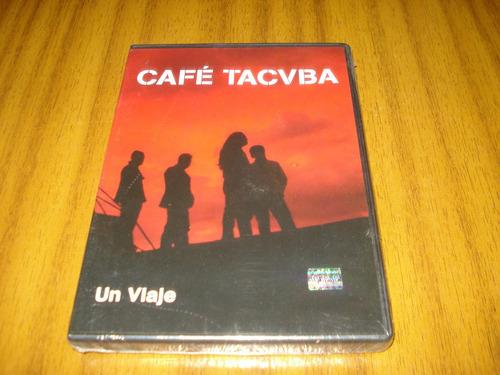 dvd cafe tacuba / un viaje (nuevo y sellado)