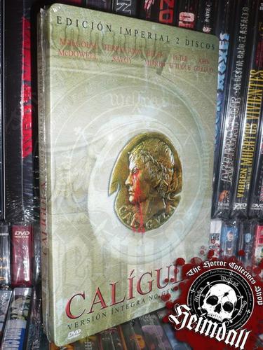 dvd caligula ed imperial 2 dvd steelbook sub esp tinto brass
