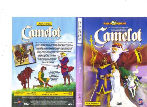 dvd camelot - a lenda - animação infantil - original