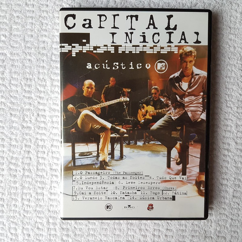 dvd capital inicial - acústico mtv