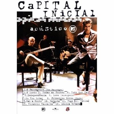 dvd show capital inicial acustico mtv