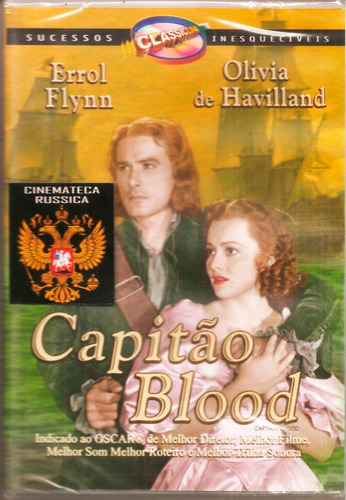dvd capitão blood   errol flynn olivia de havilland 1935  +