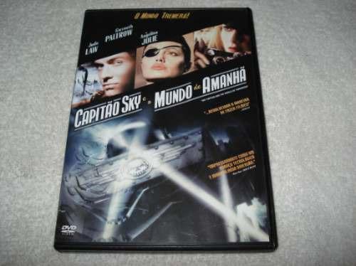 dvd capitão sky e o mundo de amanhã