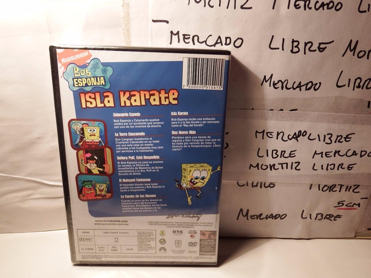 Dvd Caricatura Bob Esponja Isla Karate 7 Episodios - $ 229.00 en ...