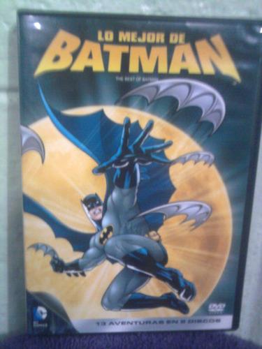 dvd  caricaturas dc comics lo mejor de batman anime