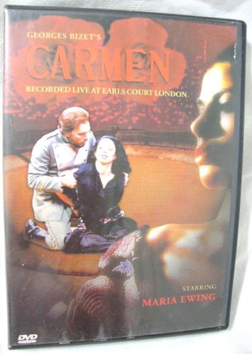 dvd carmen georges bizets starring maria ewing
