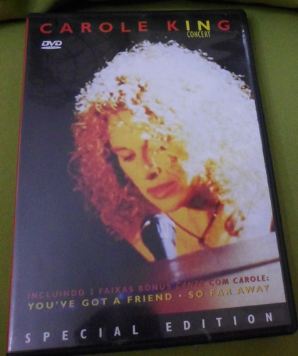 dvd carole king (1994) - in concert - special edition / 2003