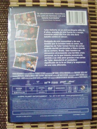 dvd cartas a dios pelicula