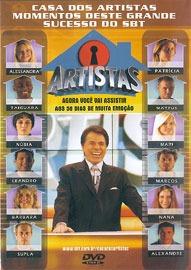 dvd casa dos artistas - os melhores momentos