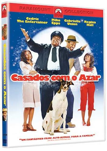 dvd - casados com o azar - cedric the entertainer