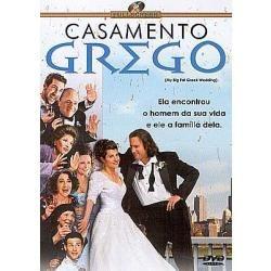 dvd casamento grego - novo***