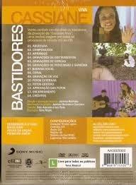 dvd cassiane viva bastidores digipack lacrado e8b5