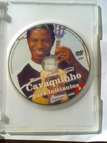 dvd cavaquinho para iniciantes (a mão direita swing e salsa)